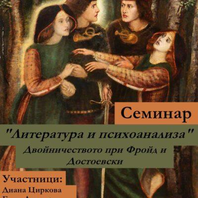 Литература и психоанализа: Двойничеството при Фройд и Достоевски